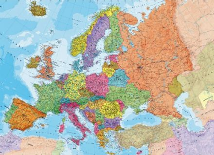 Build Your Own Map of Europe